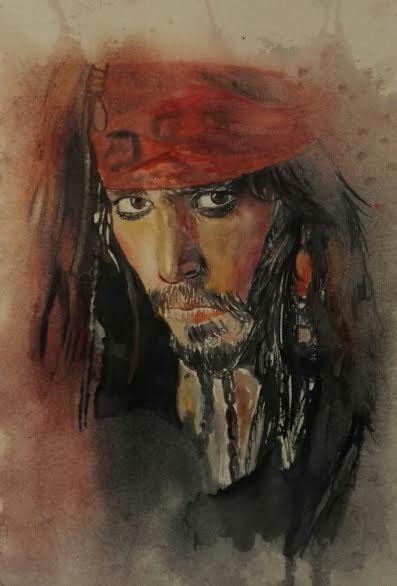 Johnny Depp par g1adina87